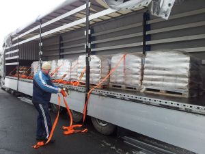 Deliveries of material TRIBET